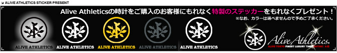 ALIVE ATHLETICS ���ƥå����ץ쥼���