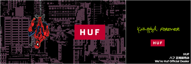 HUF(ハフ)正規販売店